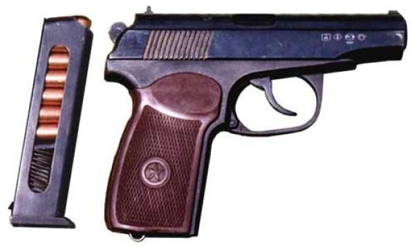 Пистолеты, Пистолет ИМЗ ПМ 1951, оружие