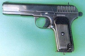Пистолеты, Пистолет ТТ, оружие