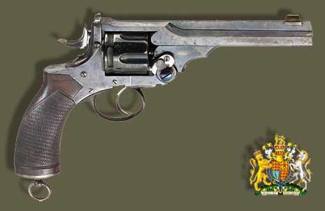 Пистолеты, Револьвер Webley-Wilkinson M1878, оружие